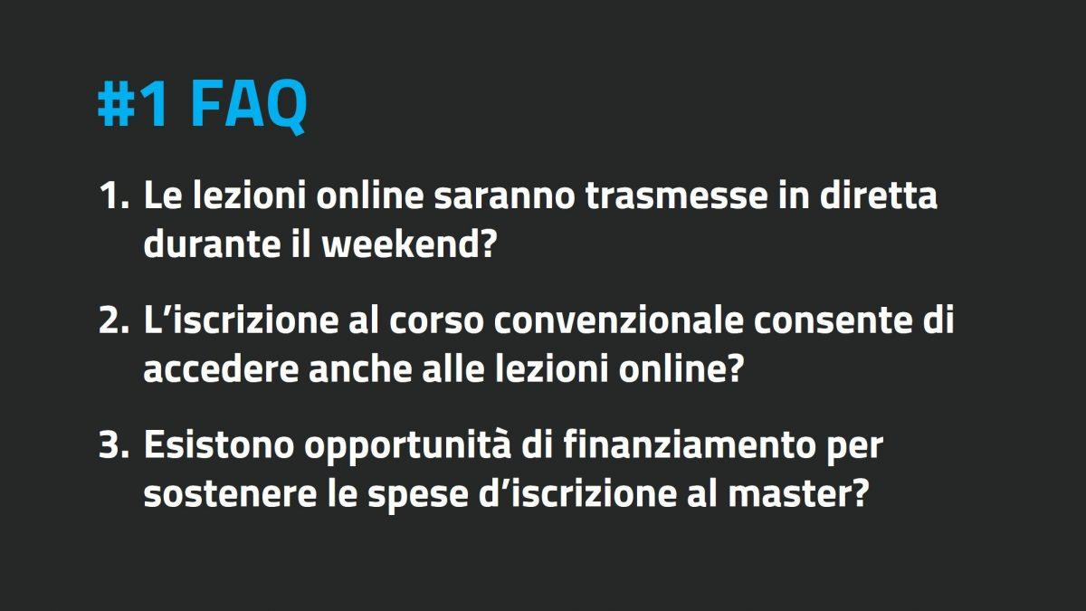 FAQ II edizione #1