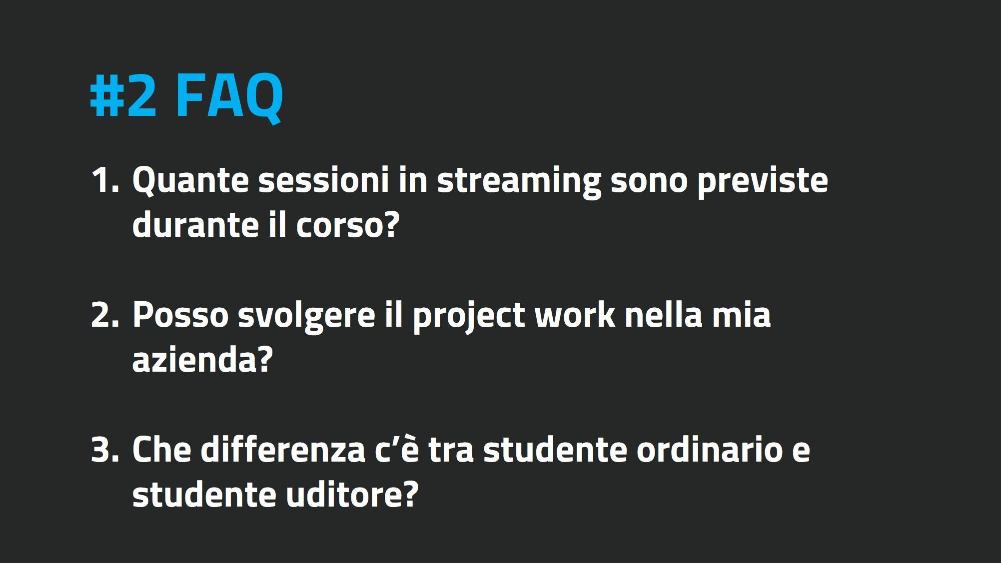 FAQ II edizione #2