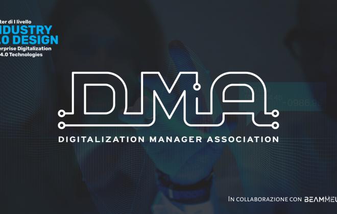 Il Master Industry 4.0 Design non finisce mai: nasce Digitalization Manager Association (DMA)